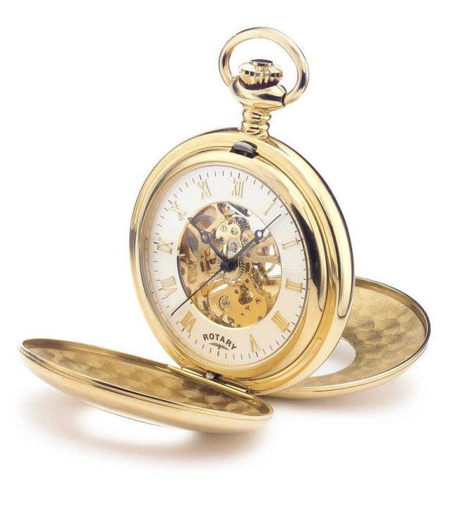 Rotary Mens Mechanical Pocket Watch MP00713/01