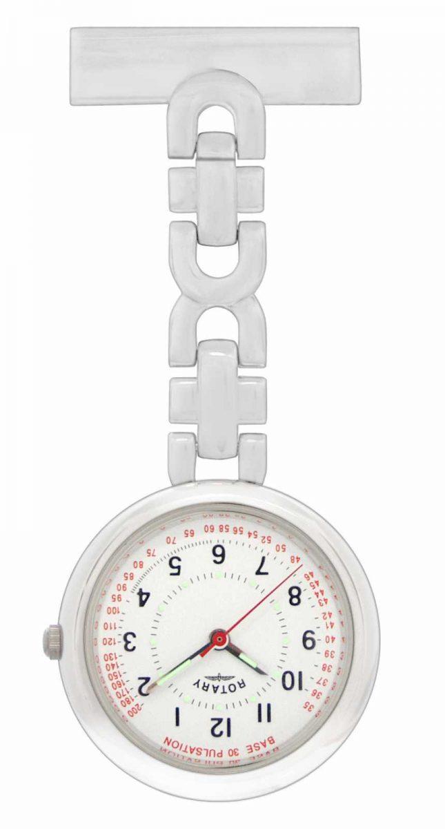 Rotary Nurses Fob Watch Stainless Steel LPI00616 LP00616