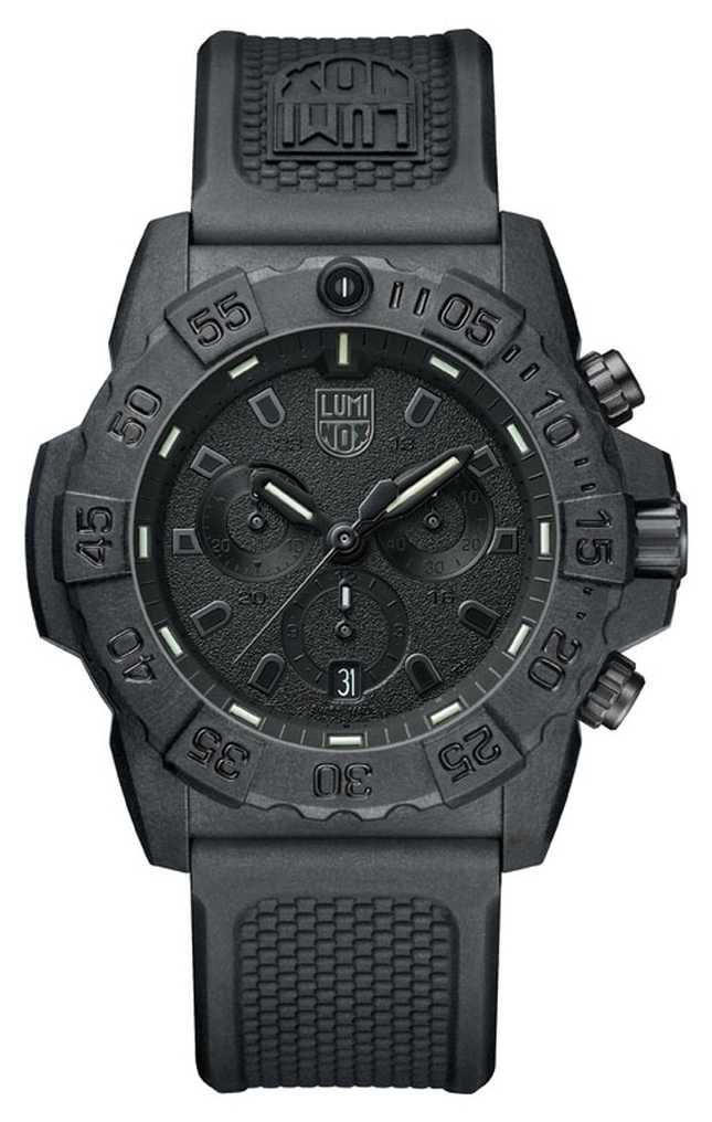 Luminox Navy Seal 3580 Chronograph Black/Black With PU Strap XS.3581.BO