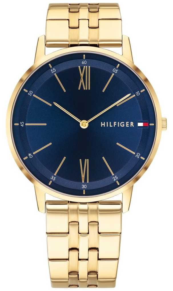 Tommy Hilfiger Cooper   Gold Plated Bracelet   Blue Dial 1791513