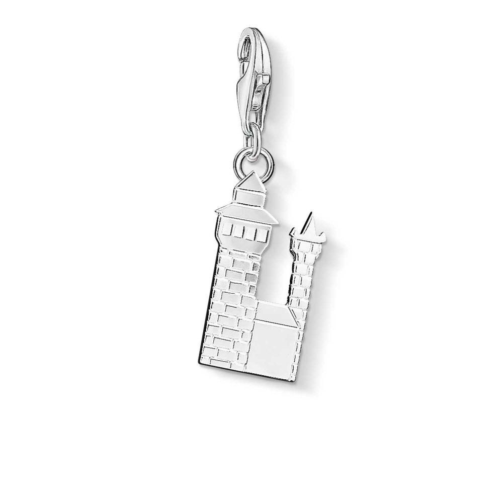 Thomas Sabo Nuremberg Castle Charm 925 Sterling Silver 1158-001-12