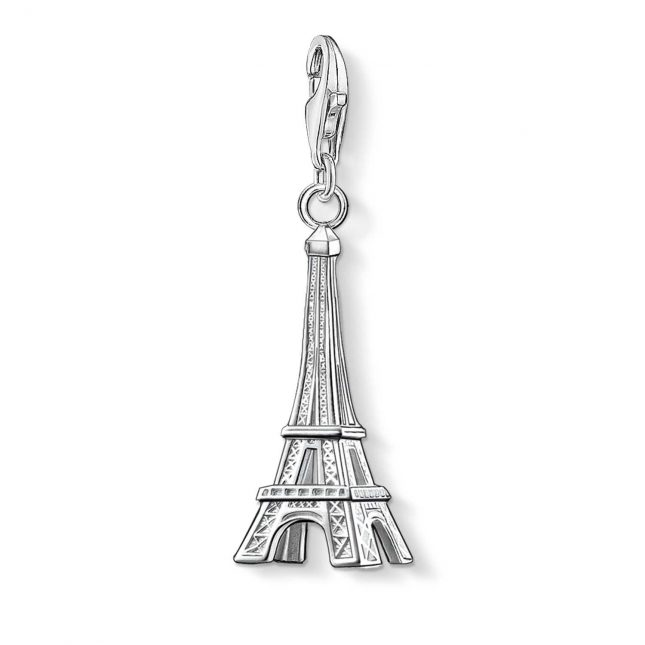 Thomas Sabo Eiffel Tower Charm 925 Sterling Silver 0029-001-12