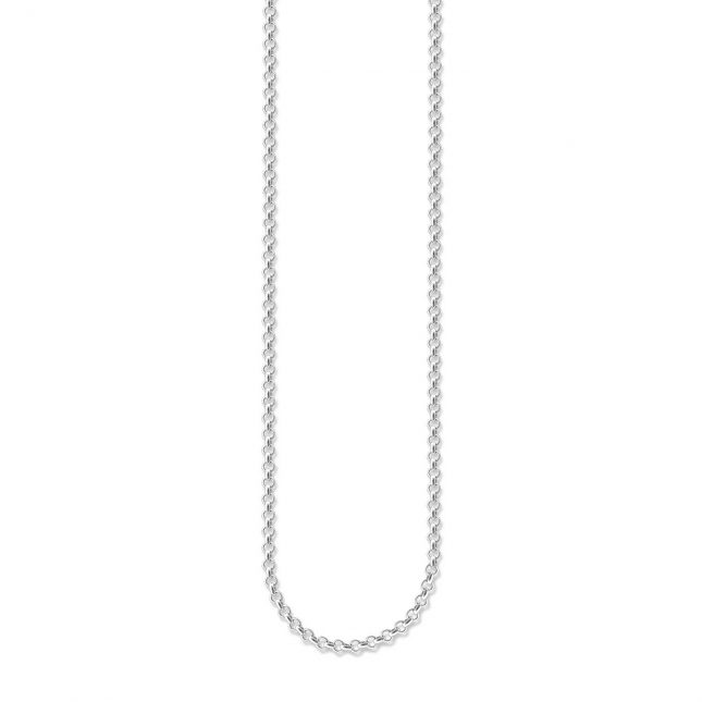 Thomas Sabo Mini Belcher Chain 38/40/42cm Charm Carrier 925 Sterling Silver X0001-001-12-L42v