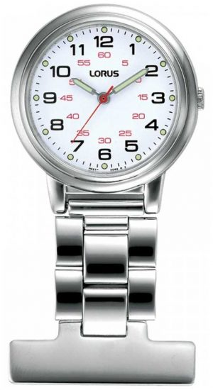 Lorus Unisex Nurse Fob Watch RG251CX9
