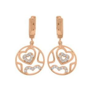 MY iMenso Hearts Earstud (925/Rosegold-Plated) 27-0506