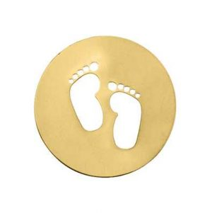 MY iMenso Feet Cover 33mm Insignia (925/Gold-Plated) 33-0724