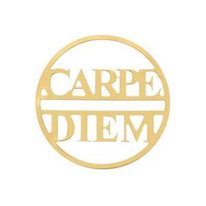 MY iMenso Carpe Diem 33mm Fantasy Insignia (925/Gold-Plate 33-0682