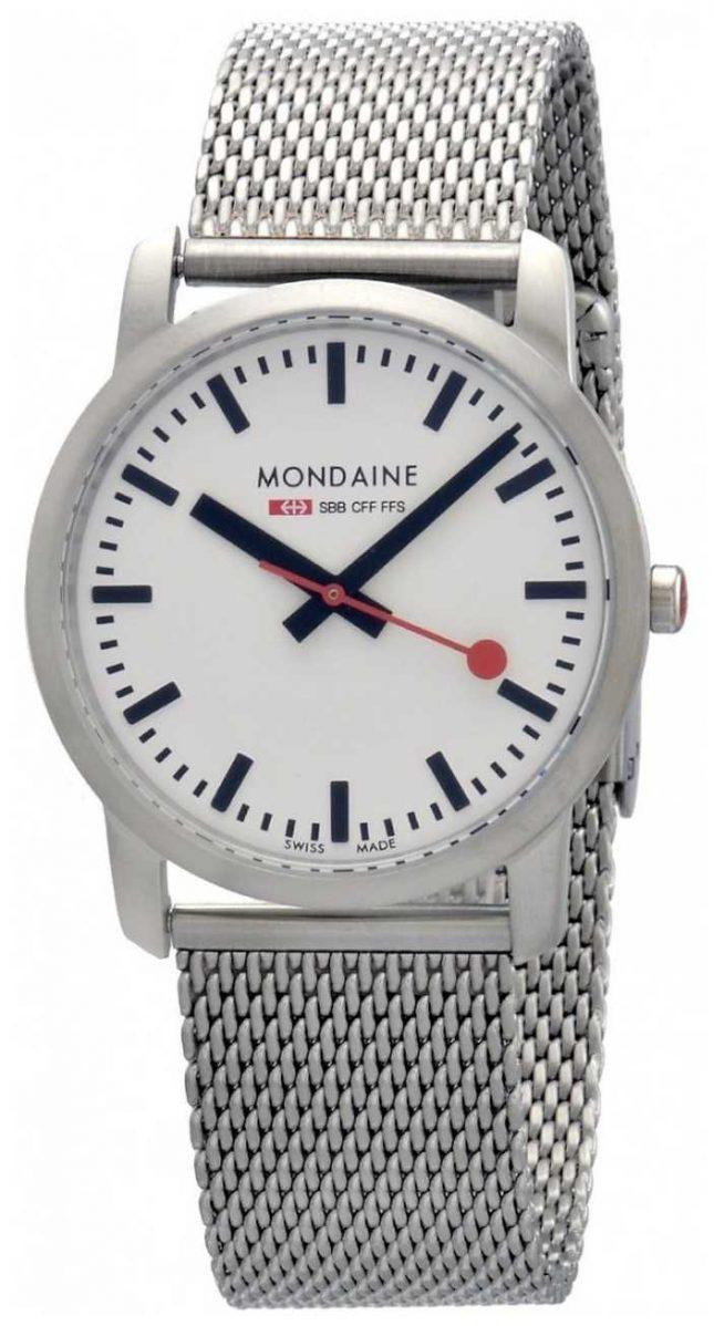 Mondaine Ladies Simply Elegant Stainless Steel Watch A400.30351.16SBM