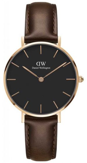 Daniel Wellington Mens Classic Bristol Watch Rose Gold Case DW00100165