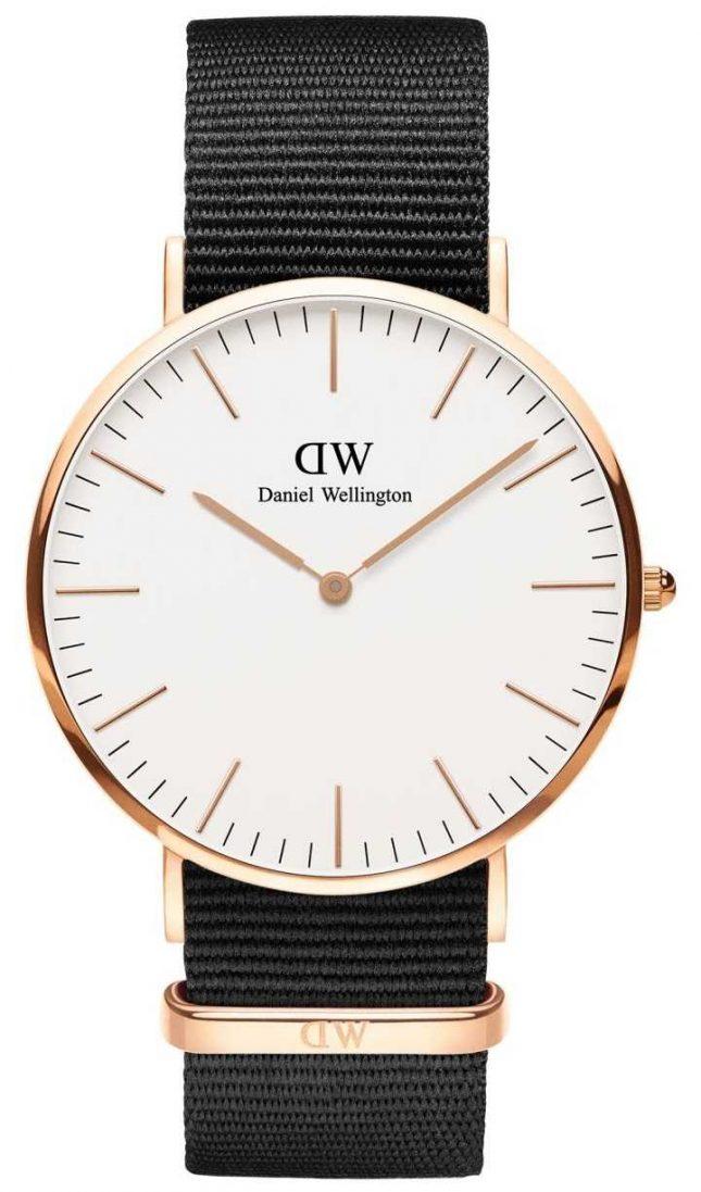 Daniel Wellington Classic Cornwall Silver Unisex Watch DW00100257