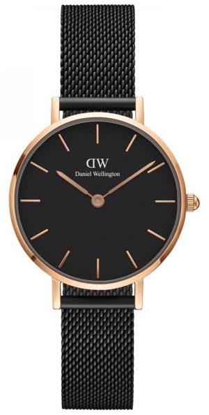 Daniel Wellington Ladies Classic Petite Ashfield Watch Rose Gold Case DW00100245