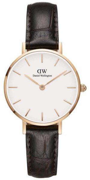 Daniel Wellington Ladies Classic Petite York Rose Gold Watch DW00100232