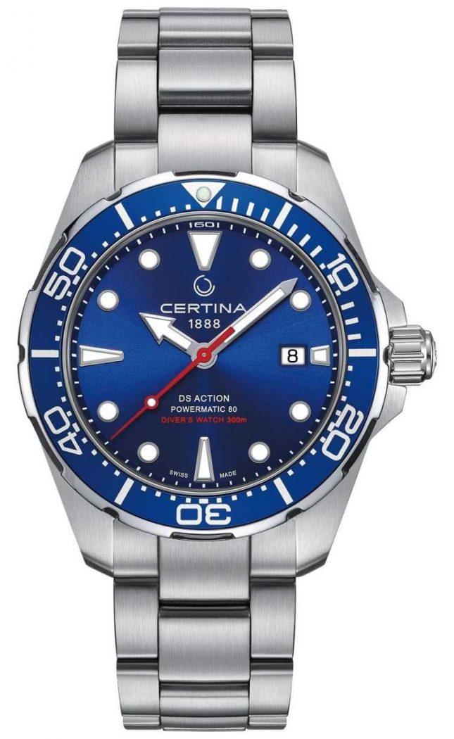 Certina Men's DS Action Diver Powermatic 80 Automatic C0324071104100
