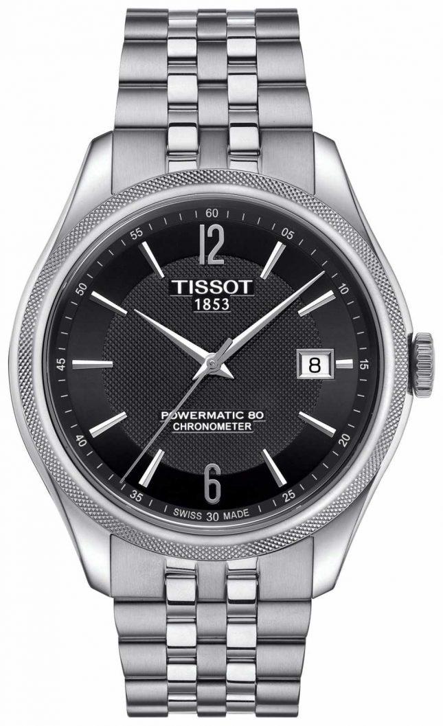 Tissot Mens Ballade Powermatic 80 Stainless Steel Bracelet T1084081105700