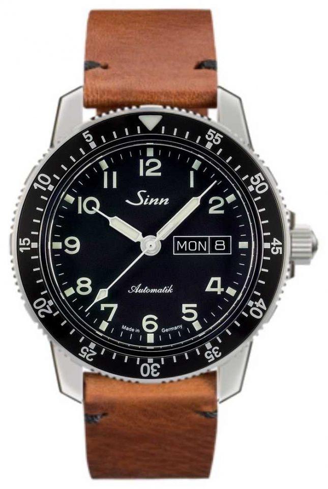 Sinn 104 St Sa A Classic Pilot Watch Light Brown Vintage Cowhide 104.011-BL50205002401A