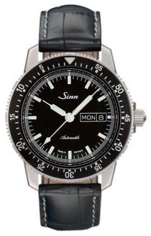Sinn 104 St Sa I Classic Pilot Watch Alligator Embossed Leather 104.010-BL44201851001225401A
