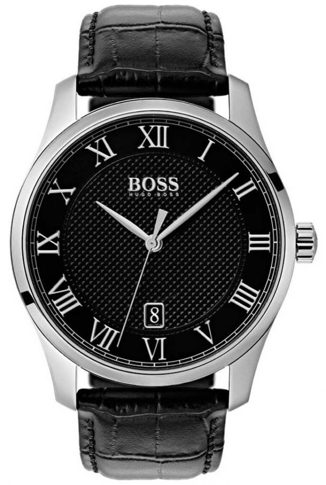 BOSS Master | Black Dial | Black Leather Strap 1513585