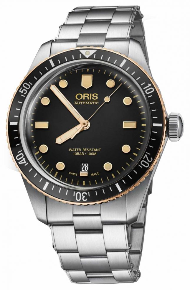 ORIS Divers Sixty Five Stainless Steel Bracelet Watch 01 733 7707 4354-07 8 20 18