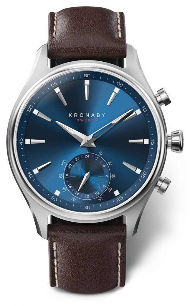 Kronaby 41mm SEKEL Bluetooth Hybrid Watch A1000-3120 S3120/1
