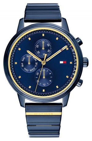 Tommy Hilfiger Blake | Blue IP Steel Bracelet | Blue Dial 1781893