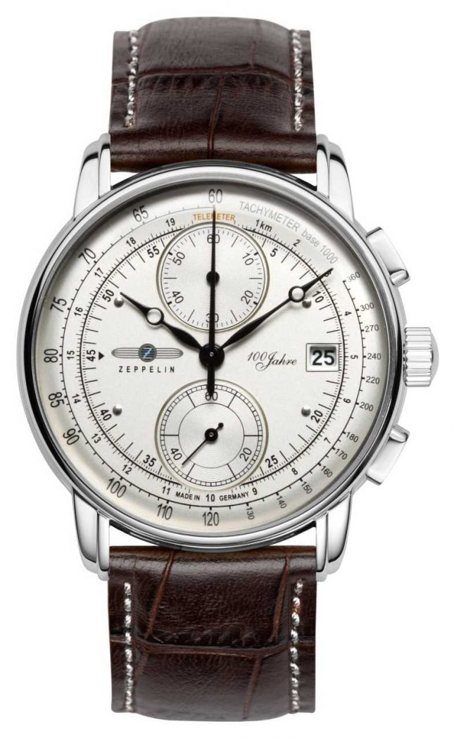 Zeppelin | Series 100 Years | Edition 1 | Cream Chronograph Date | 8670-1