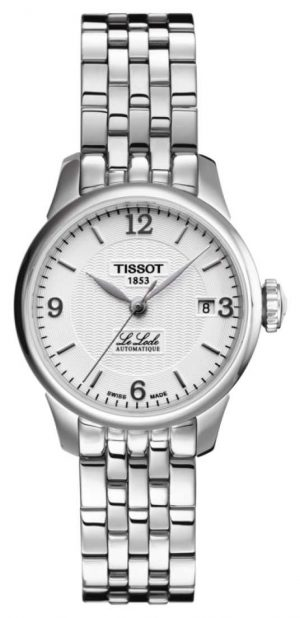 Tissot Womens Le Locle Automatic Stainless Steel Bracelet T41118334