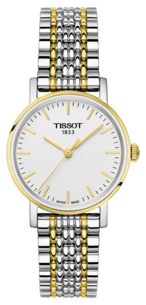 Tissot Womens Everytime Two Tone Bracelet Gold Plated T1092102203100
