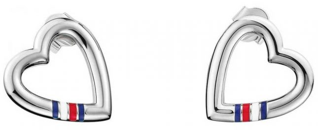 Tommy Hilfiger Silver Stainless Steel Casual Core Earrings 2700909