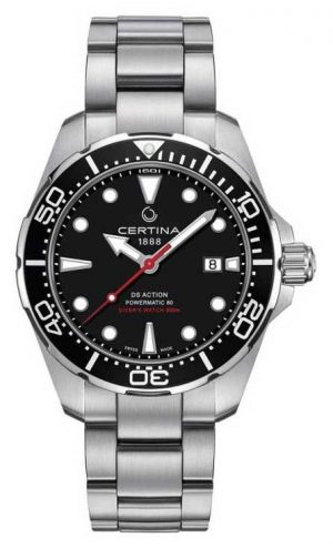 Certina Men's DS Action Diver Powermatic 80 Automatic Watch C0324071105100