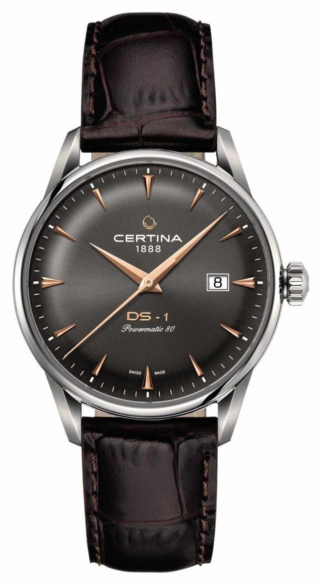 Certina Mens Ds-1 Powermatic 80 Automatic Watch C0298071608101