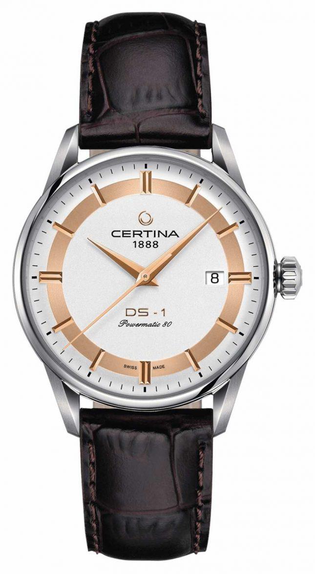 Certina Mens Ds-1 Powermatic 80 Himalaya Special Edition Watch C0298071603160