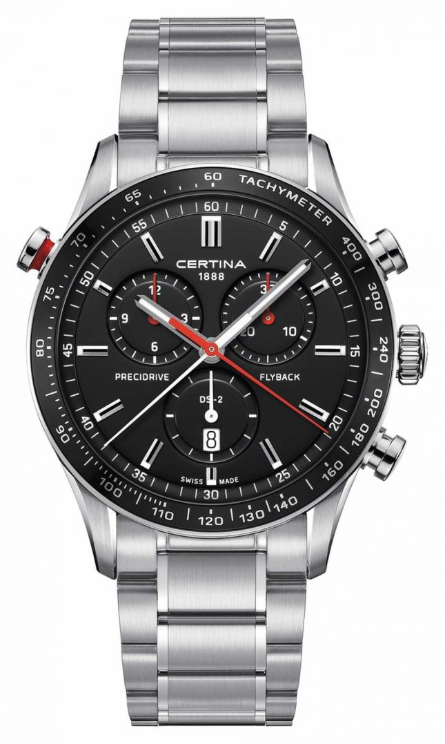Certina Mens Ds-2 Precidrive Flyback Chronograph Watch C0246181105101