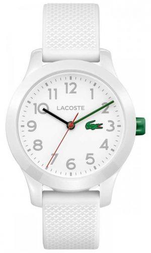 Lacoste 12.12 Kids Watch White Rubber Strap 2030003