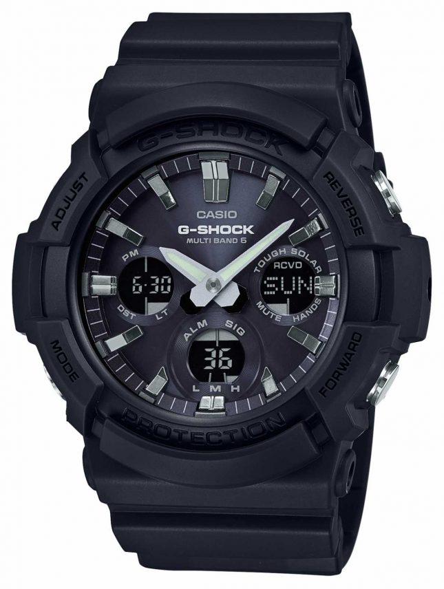 Casio Waveceptor Alarm Chronograph Grey/Black GAW-100B-1AER