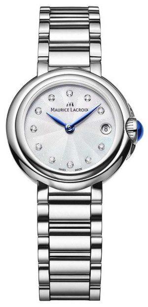 Maurice Lacroix Women's Fiaba 28mm Diamond Set Wristwatch FA1003-SS002-170-1