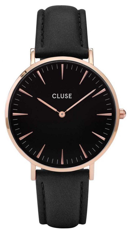 CLUSE | La Bohème | Rose Gold Case | Black Dial | CL18001 | CW0101201011