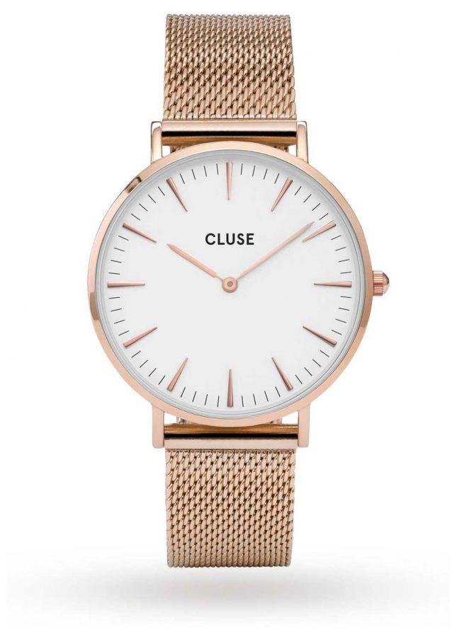 CLUSE | La Bohème | Rose Gold Case | White Dial | CL18112 | CW0101201001
