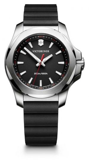 Victorinox Swiss Army Womans I.N.O.X V Black Rubber Strap 241768