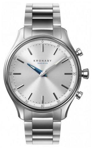 Kronaby 38mm SEKEL Bluetooth Stainless Steel Bracelet A1000-0556 S0556/1