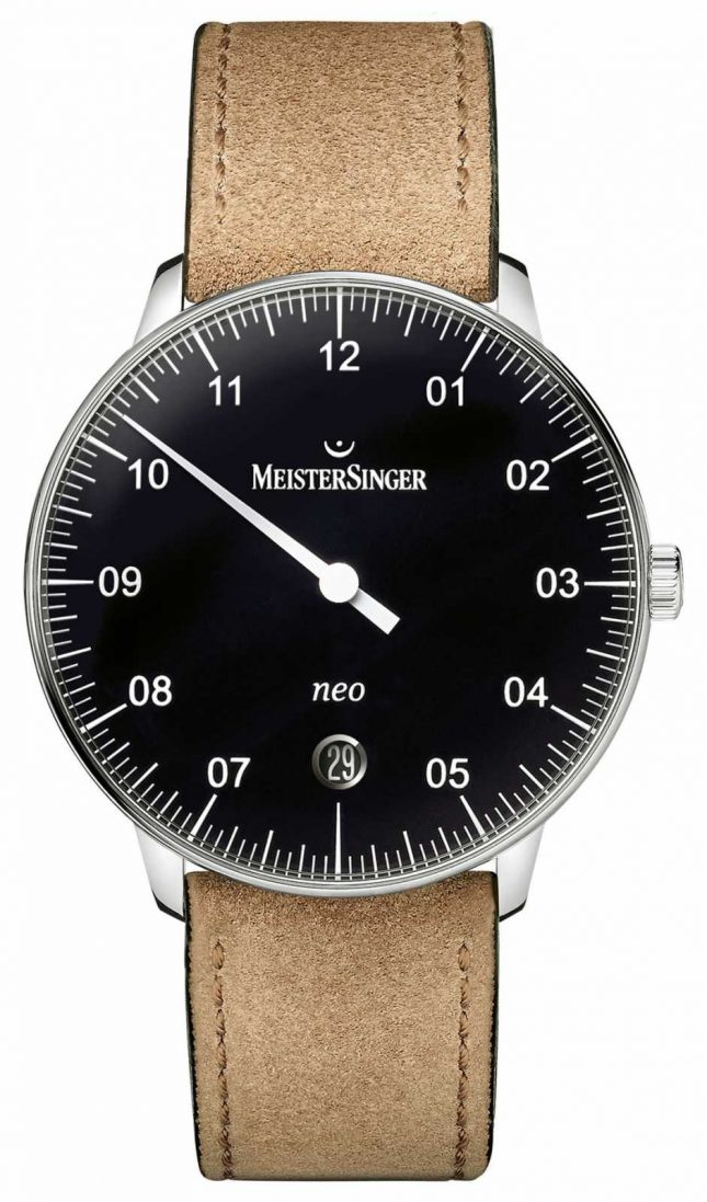 MeisterSinger Men's Form And Style Neo Automatic Black NE902N