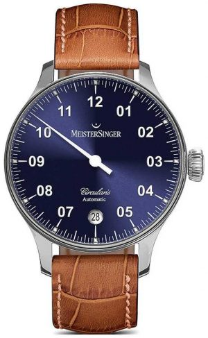 MeisterSinger Men's Circularis Automatic Sunburst Blue CC908