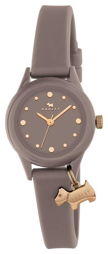 Radley Women's 'Watch It' Grey Strap Gold Markers RY2322