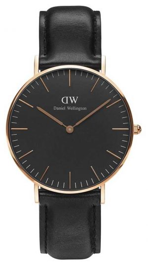 Daniel Wellington Unisex Classic Sheffield 36mm Black DW00100139