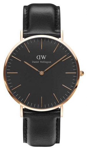 Daniel Wellington Unisex Classic Sheffield 40mm Black DW00100127