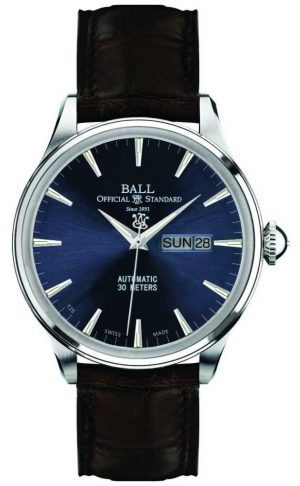Ball Watch Company Eternity Blue Dial Trainmaster NM2080D-LJ-BE