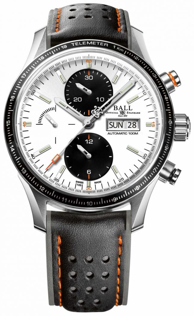 Ball Watch Company Fireman Storm Chaser Pro Automatic Chronograph CM3090C-L1J-WH