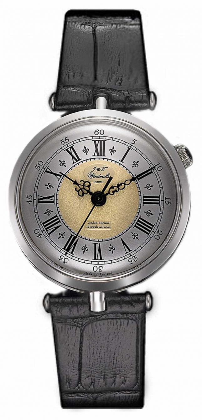 J&T Windmills Womans Throgmorton Mechanical Watch Sterling Silver WLS10002/50