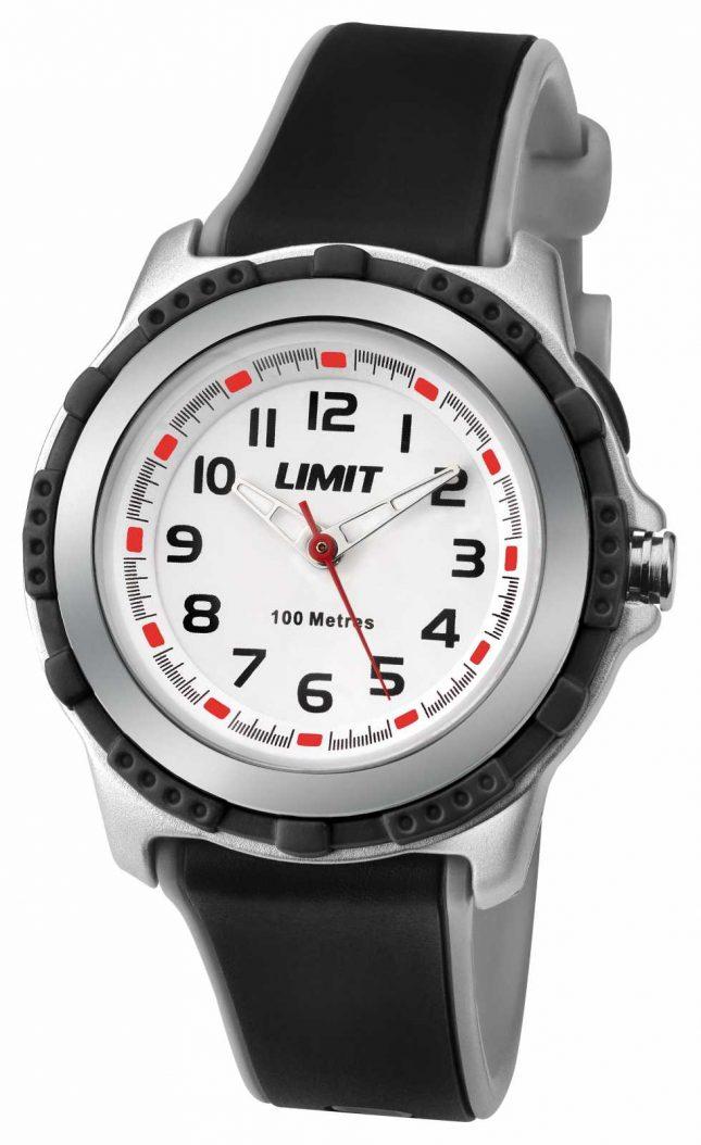 Limit Kids Active Black Resin Strap White Dial 5597.69