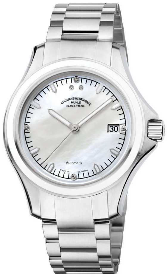 Muhle Glashutte ProMare Lady Stainless Steel Band Mop Dial M1-42-25-MB