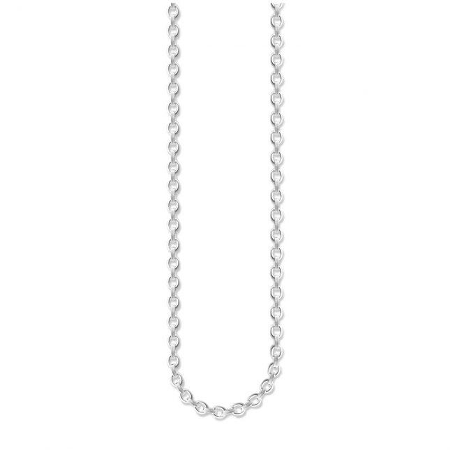 Thomas Sabo Oval Belcher Chain 53cm 925 Sterling Silver X0091-001-12-M
